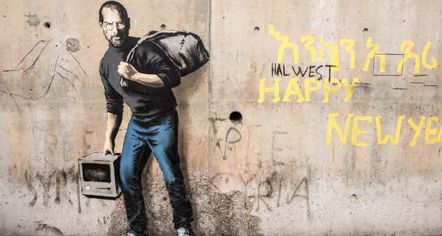 FRANCE-ARTS-BANSKY