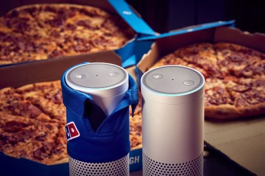 Domino's has launched voice ordering through Amazon's Alexa to help make ordering easier and quicker than ever. It is the first pizza brand to launch a Skill on the device and will support GPS delivery tracking, meaning Alexa can tell customers exactly how far away their pizza is. Domino's order-by-voice is the latest in a line of innovations to help make ordering even easier, including becoming the first pizza company in the UK to offer ordering by emoji and through Facebook Messenger. This newest feature is available on Alexa-enabled devices such as Amazon Echo and Echo Dot. For more information contact Neil Broderick on 07850 508 412. PR Handout - free for editorial usage Copyright: © Mikael Buck / Domino's